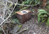 The makeshift toilet discovered by OPRD last week at Agate Beach