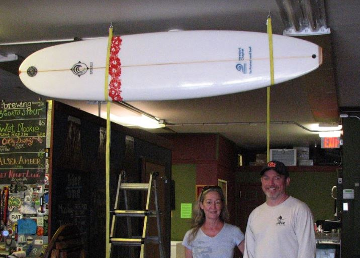 Surfboard Raffle To Benefit Oceans and Beaches