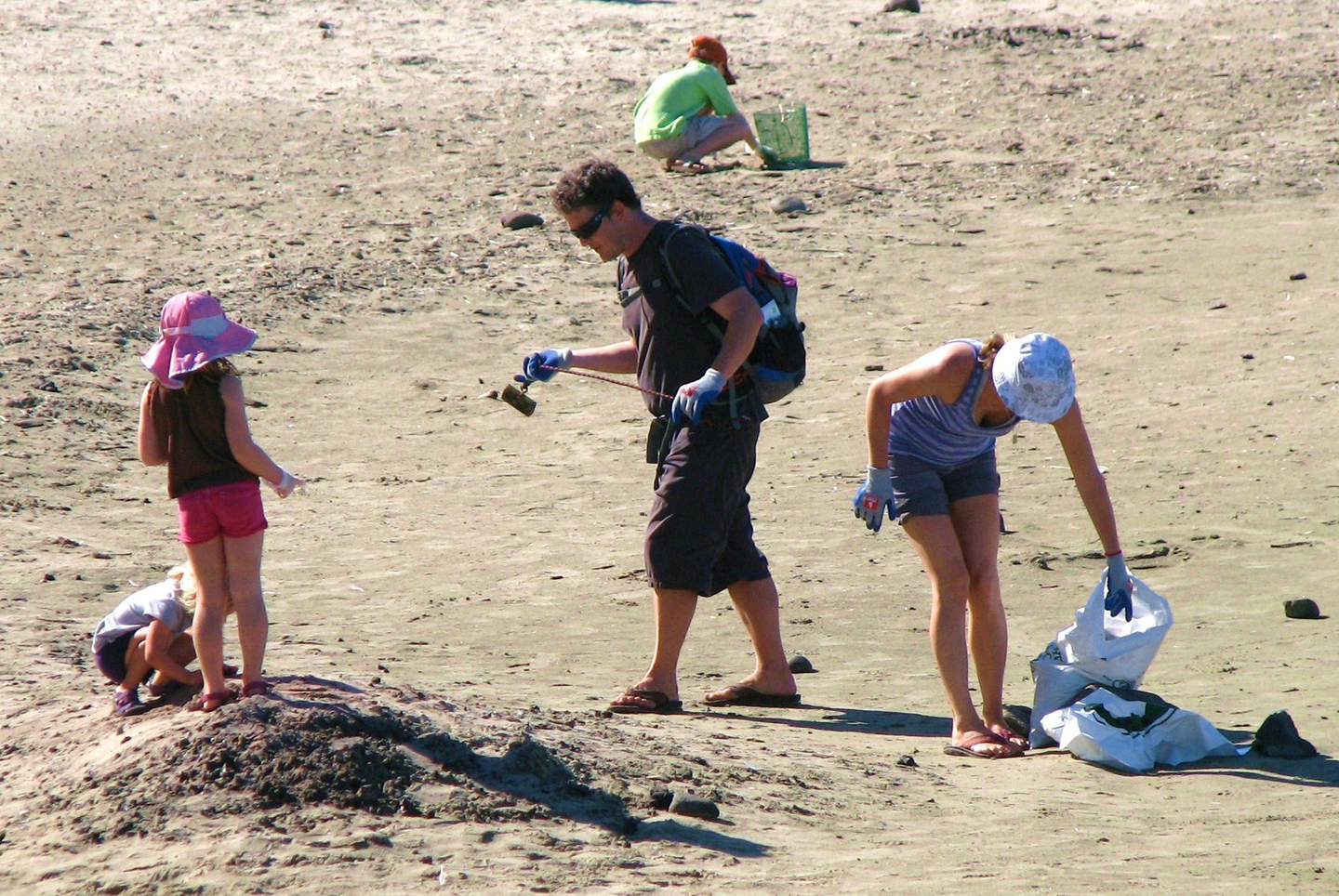 Summer Beach Cleanup Series