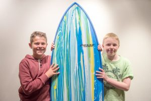 Fifth Grade Dives in to Ocean Preservation