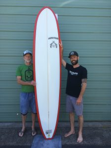 Surfboard Raffle August 23