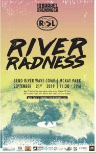 First River Wave Competition in Bend and SOLVE River Clean Up